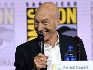 Patrick Stewart en la Comic-Con de San Diego