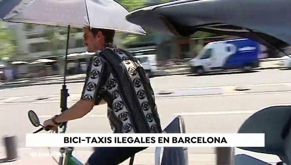 """Barcelona aumenta el control de los 'bicitaxis' y quiere reducirlos """"drásticamente"""""""