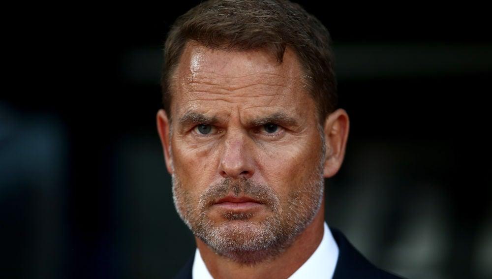 Frank de Boer como entrenador