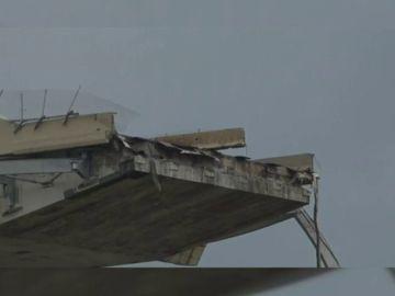 Primer aniversario del derrumbe del puente Morandi de Italia