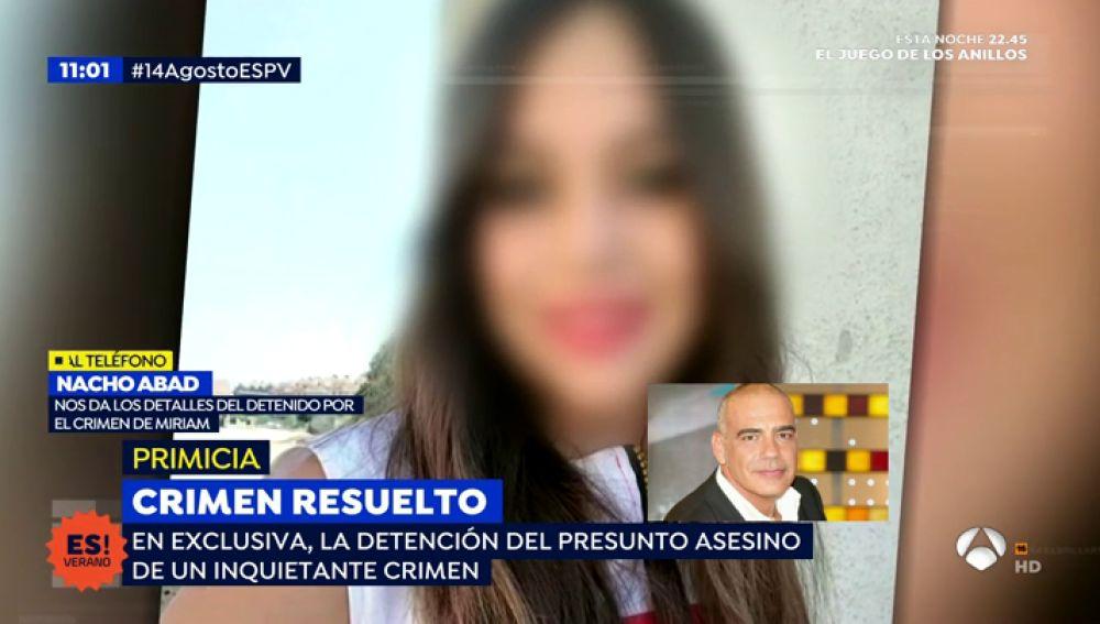Detenido el novio de la compañera de piso de Miriam Vallejo, la joven asesinada en Meco