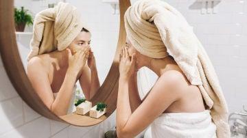 Exfoliando el rostro