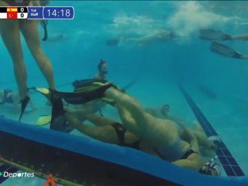 ¿Conoces el hockey subacuático? La Selección femenina española nos muestra su día a día