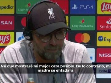 """Jürgen Klopp mostrará su mejor cara a la árbitra durante la final de la Supercopa: """"De lo contrario...mi madre se enfadará"""""""
