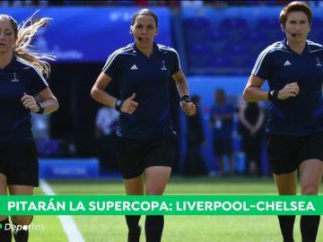 Stephanie Frappar hace historia en el fútbol: así es la árbitra que pita la Supercopa de Europa