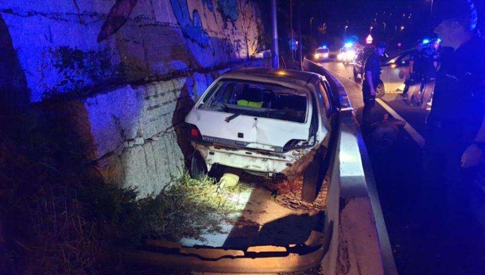 Persecución policial en Vigo