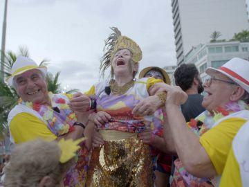 El sueño cumplido de Paquita: desfilar como reina en el Carnaval de Río de Janeiro