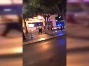 Tiroteo y persecución policial en Puerto Banús