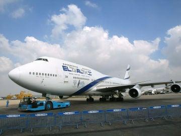 Avión de la compañía El Al