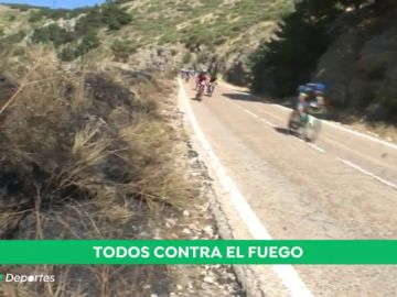 Una marcha cicloturista para concienciar de los peligros de los incendios en el monte