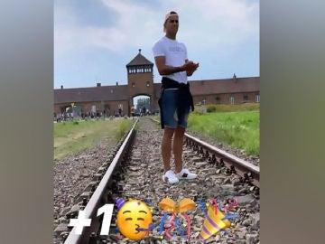 Rodrigo Zalazar en Auschwitz