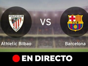 Athletic Club - Barcelona: Resultado del partido de hoy de la Liga Santander, en directo