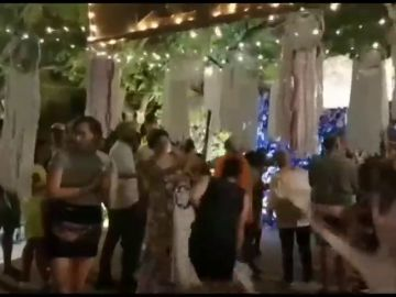 Destrozan el decorado de unos vecinos en las fiestas de Gràcia al considerarlo racista
