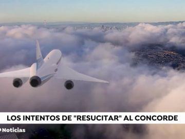 El nuevo avión supersónico 'Concorde' alcanzará los 2.700 kilómetros por hora