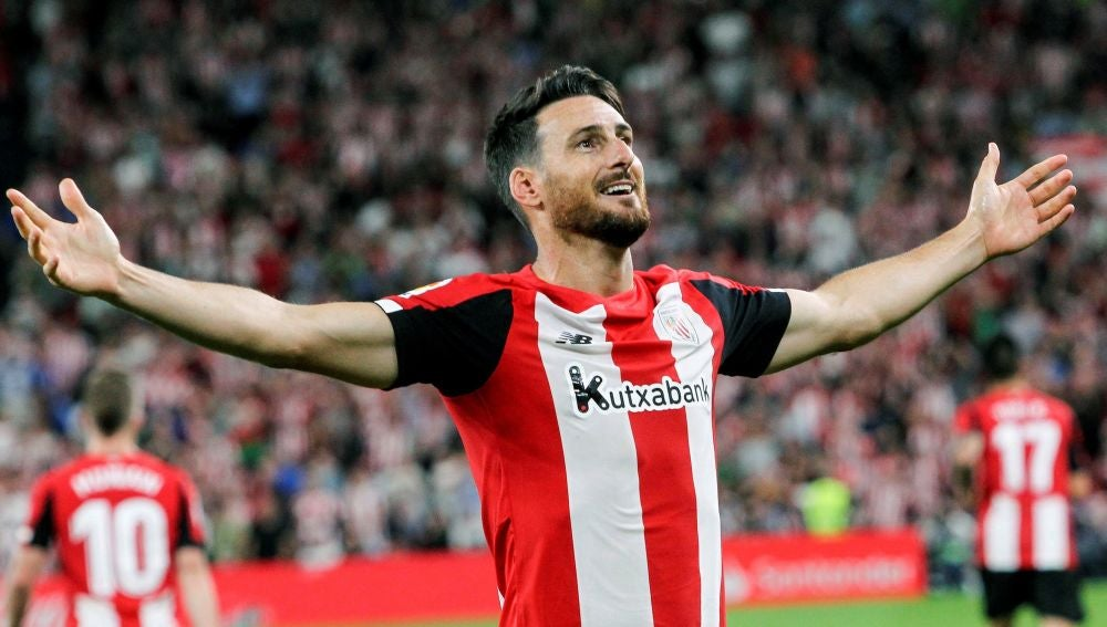 Aduriz, autor del gol del Athletic