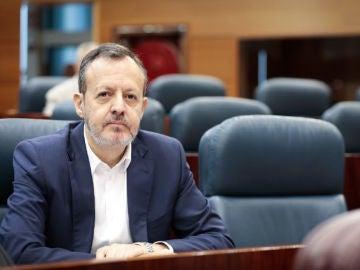 Alberto Reyero, consejero de Políticas Sociales, Familia y Natalidad de la Comunidad de Madrid