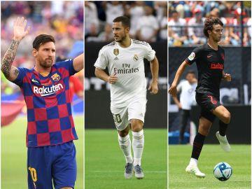 Messi, Hazard y Félix