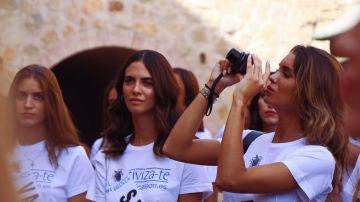 La novia de Kiko Matamoros en el certamen Miss World Spain representando a Jaén