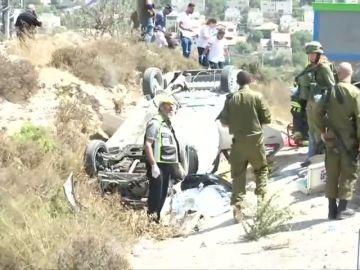 Dos israelíes heridos en posible ataque con atropello en Cisjordania