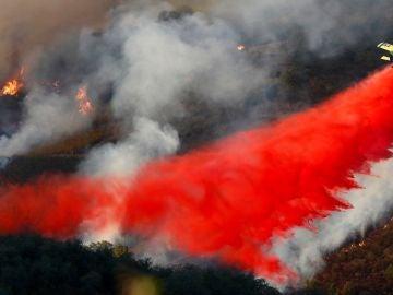 Incendio en El Madroño