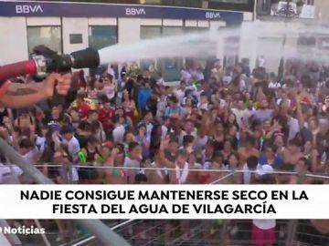 Fiesta del Agua en Vilagarcía