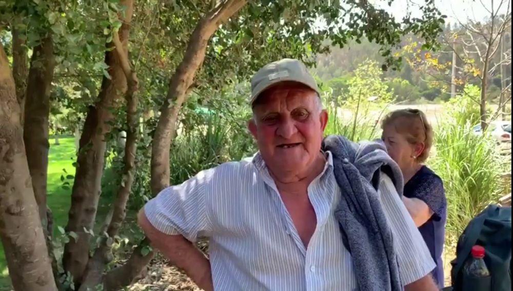 Juan en el campo en 'Por el mundo a los 80'