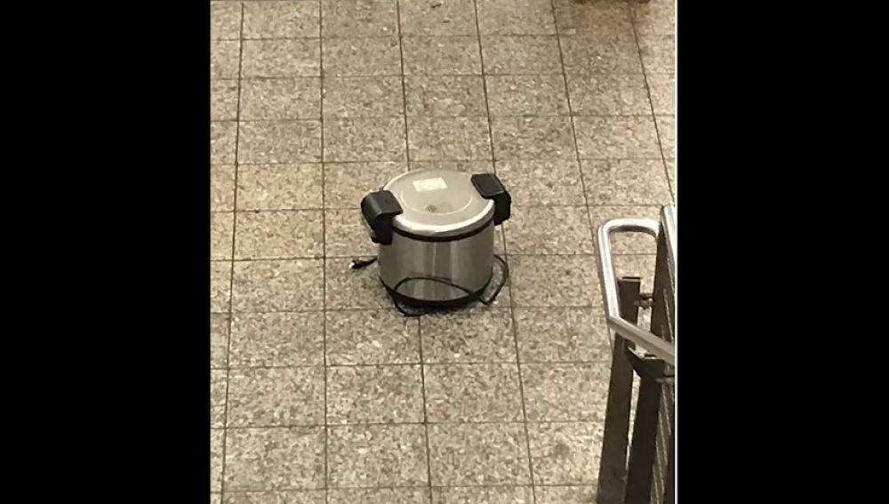 Susto en el metro de Nueva York