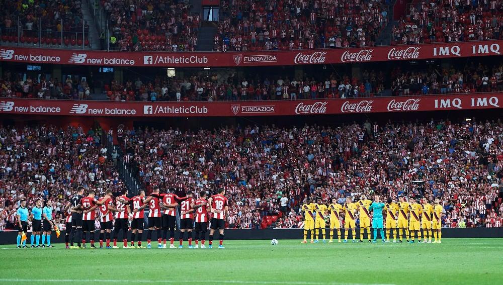 Primer partido de LaLiga entre el Athletic y el Barça