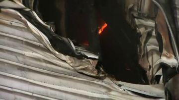 Ocho muertos y 10 heridos en el incendio de un hotel de Ucrania