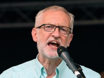 El líder de la oposición británica, Jeremy Corbyn