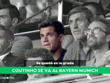 A punto de hacerse oficial: Philippe Coutinho jugará cedido en el Bayern de Múnich