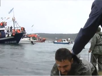 Fiesta rescate pescadores