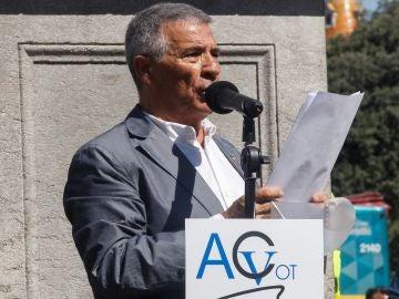 El presidente de la Asociación Catalana de Víctimas de Organizaciones Terroristas (ACVOT), José Vargas