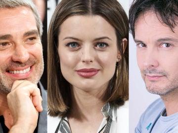 Los nuevos actores calientan motores junto a los veteranos para la octava temporada de 'Amar es para siempre'