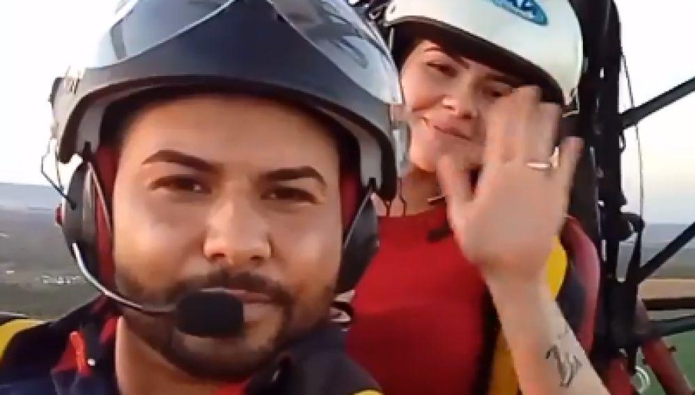 Una pareja de brasileños muere en un accidente de parapente el día de antes de su boda