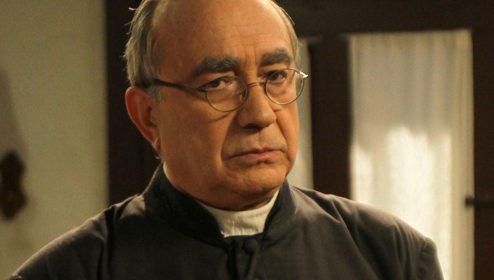 Mario Martín interpreta a Don Anselmo en 'El secreto de Puente Viejo'