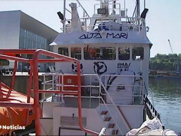 El Ocean Viking y el Alta Mari esperan puerto en aguas internacionales