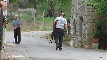 Así han capturado los vecinos de Azpeitia al toro que ha provocado la muerte de un anciano