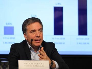 El ministro de Hacienda y Finanzas de Argentina, Nicolás Dujovne