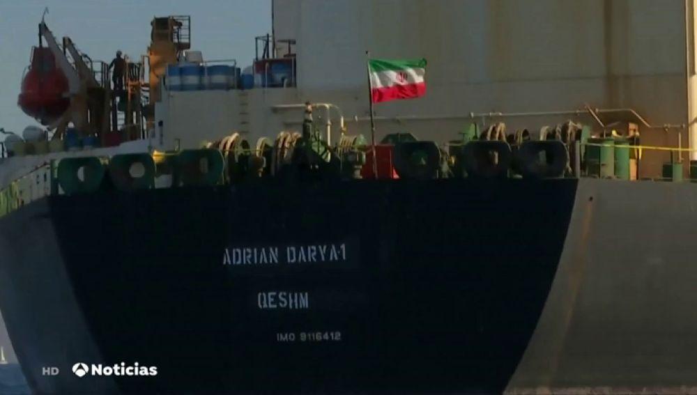 El petrolero iraní se prepara para salir de Gibraltar tras la detención