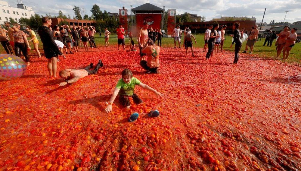 Tomatina en Rusia
