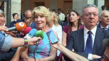 Aguirre asegura que no ha hecho nada ilegal en el 'caso Púnica' y pide que investiguen