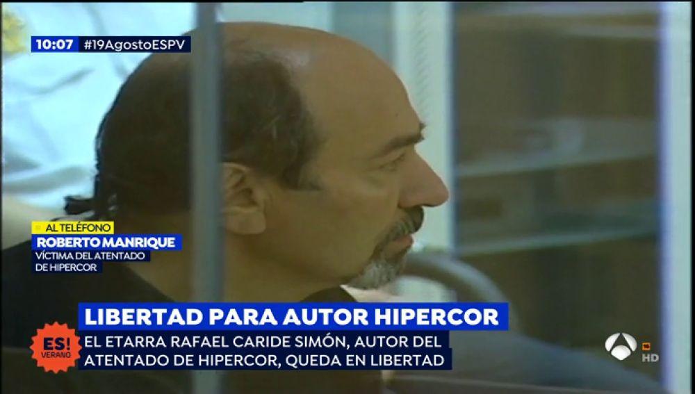 Libertad para Carides, autor del atentado a Hipercor