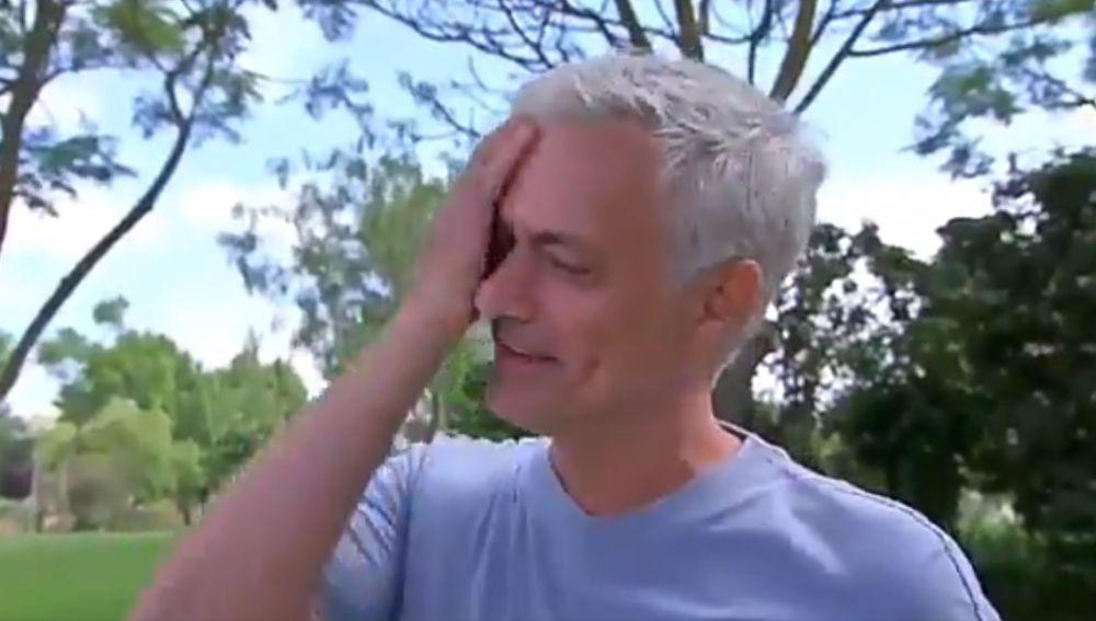 Mourinho, entre lágrimas