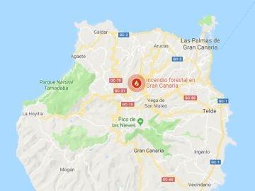 Google Maps muestra dónde hay incendios forestales