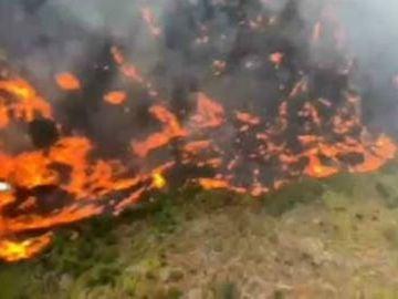 Situación del incendio de Gran Canaria