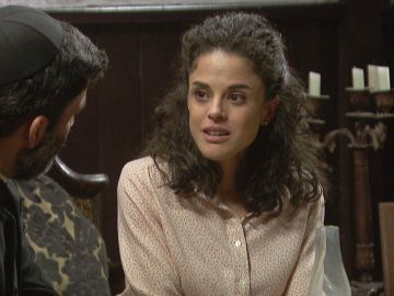 Esther y don Berengario en 'El secreto de Puente Viejo'