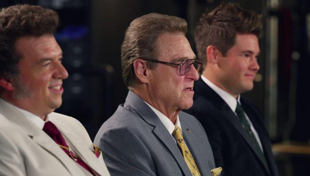 Danny McBride, John Goodman y Adam DeVine en 'Los Gemstone'