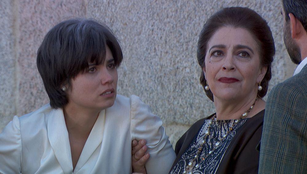 Reencuentro con María en 'El secreto de Puente Viejo'