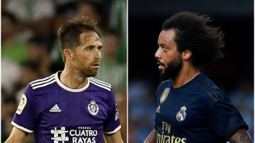 Real Madrid y Valladolid